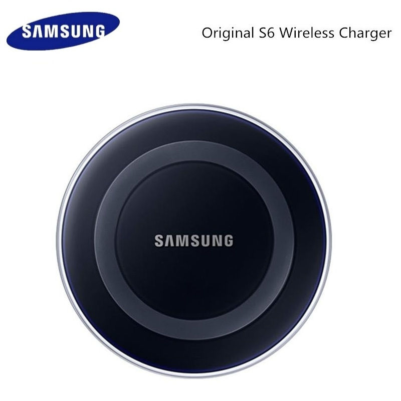 Original Samsung QI Wireless <font><b>Charger</b></font> Adapter <font><b>5V</b></font>/2A <font><b>Charger</b></font> Pad For Galaxy S6 S7 EDGE S8 S9 S10 Plus Note 4 5 Iphone X XS XR image
