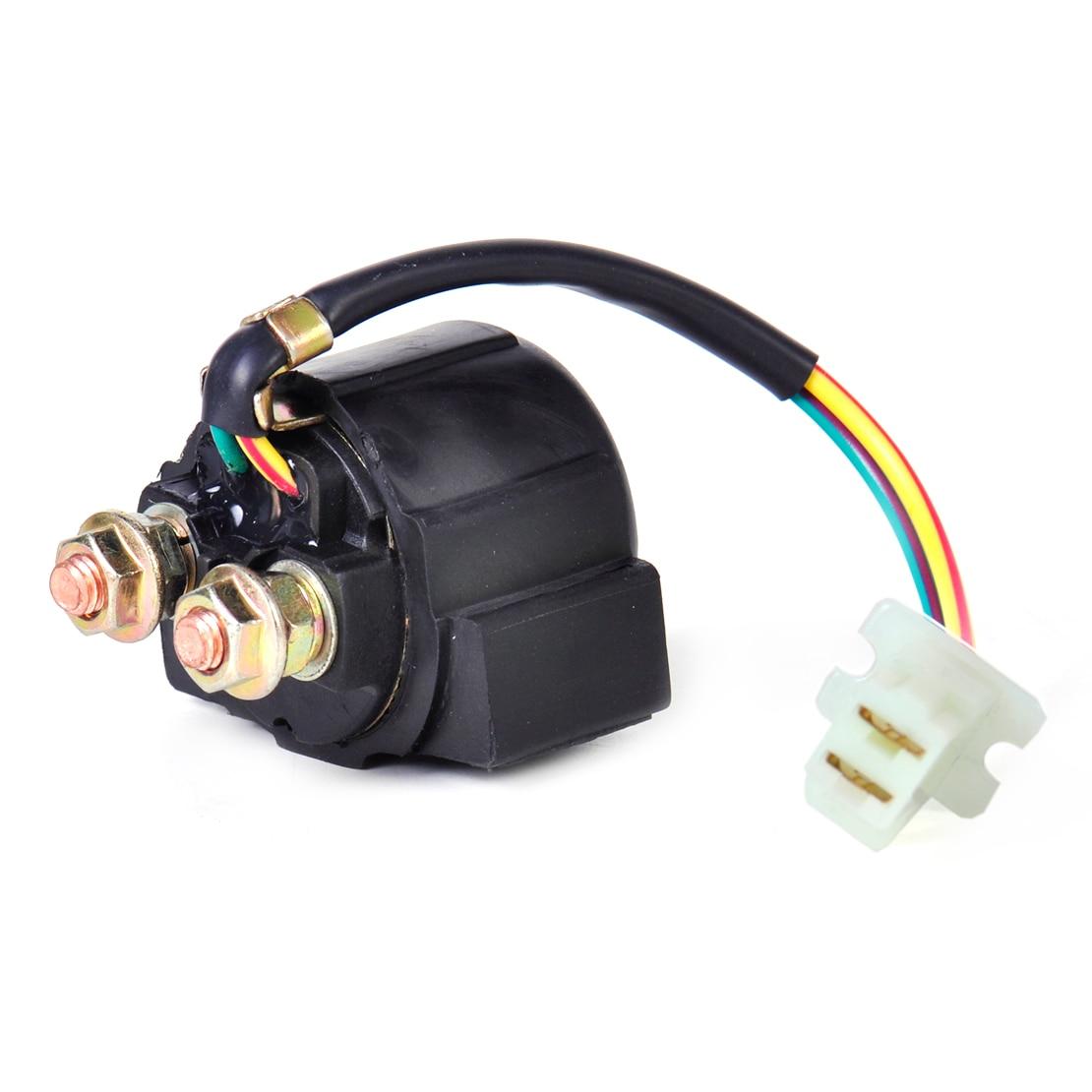 hight resolution of citall 2 wire plug connection starter relay solenoid for yamaha yfm350 xv750 sr185 warrior honda atv 300 trx250 suzuki dr200se in motorbike ingition from
