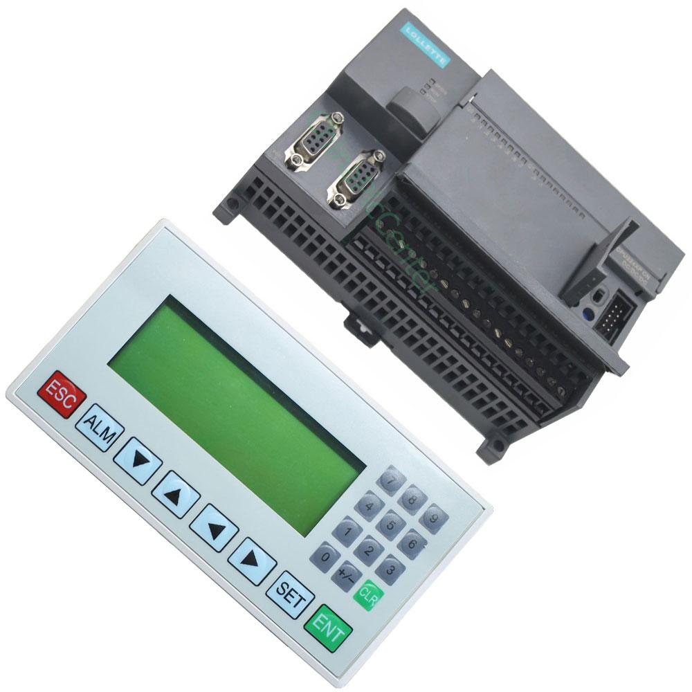 Affichage écran LUI MD204L OP320-A + PLC S7-200/CPU224XP analogique 2AD1DA 14 port entrée 10 port Transistor