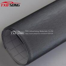 Premium kwaliteit 10/20/30/40/50/60X152 CM Grey Geborsteld Vinyl Sticker flexibele Borstel vinyl auto sticker door gratis verzending