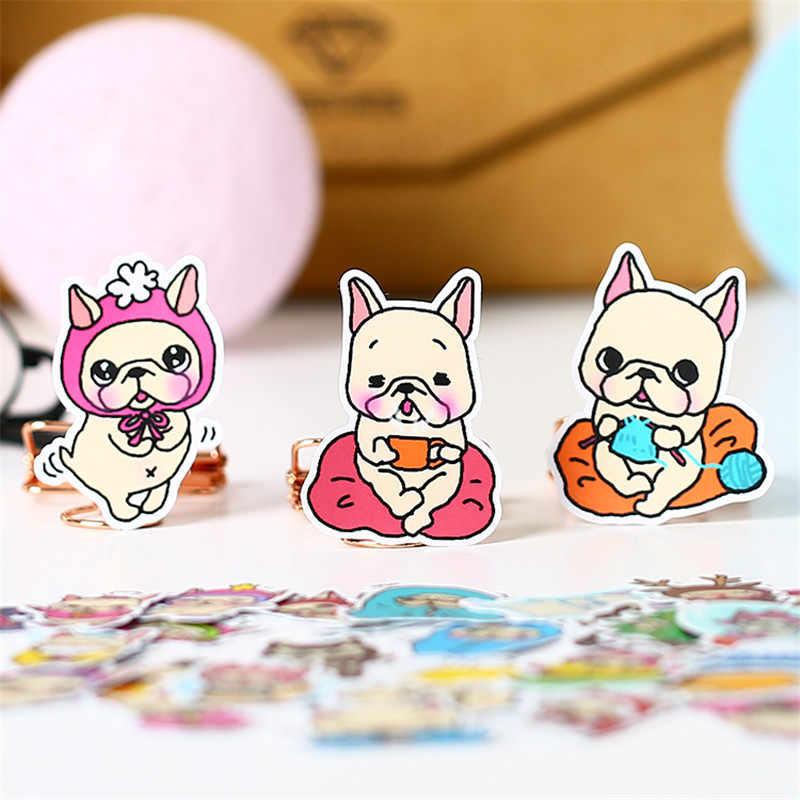 40 PCS Campuran Telur Anjing Stiker Anime Lucu Scrapbooking Stiker untuk Anak DIY Koper Laptop Skateboard Moto Sepeda Mobil Mainan