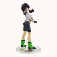 16cm Dragon Ball Z Gohan Wife Gals Videl Mr. Satan Daughter Sexy Anime Action Figure PVC New Collection Figures Model Toys(China)