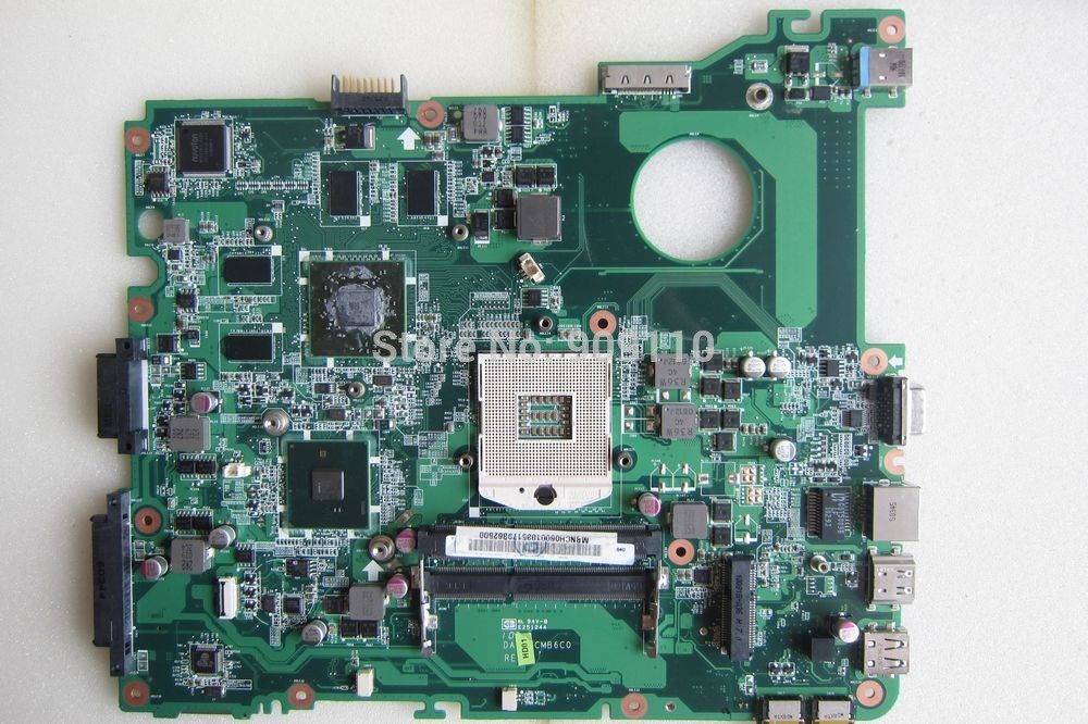 E732 non-integrated motherboard for Acer laptop E732 MBNCH06001 DA0ZRCMB6C0 wholesale 6050a2341701 laptop motherboard for acer travelmate 8732hm55 non integrated mbbap30702 100