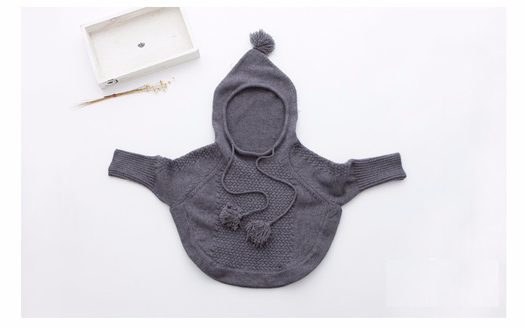 child hooded knitted sweaters 11