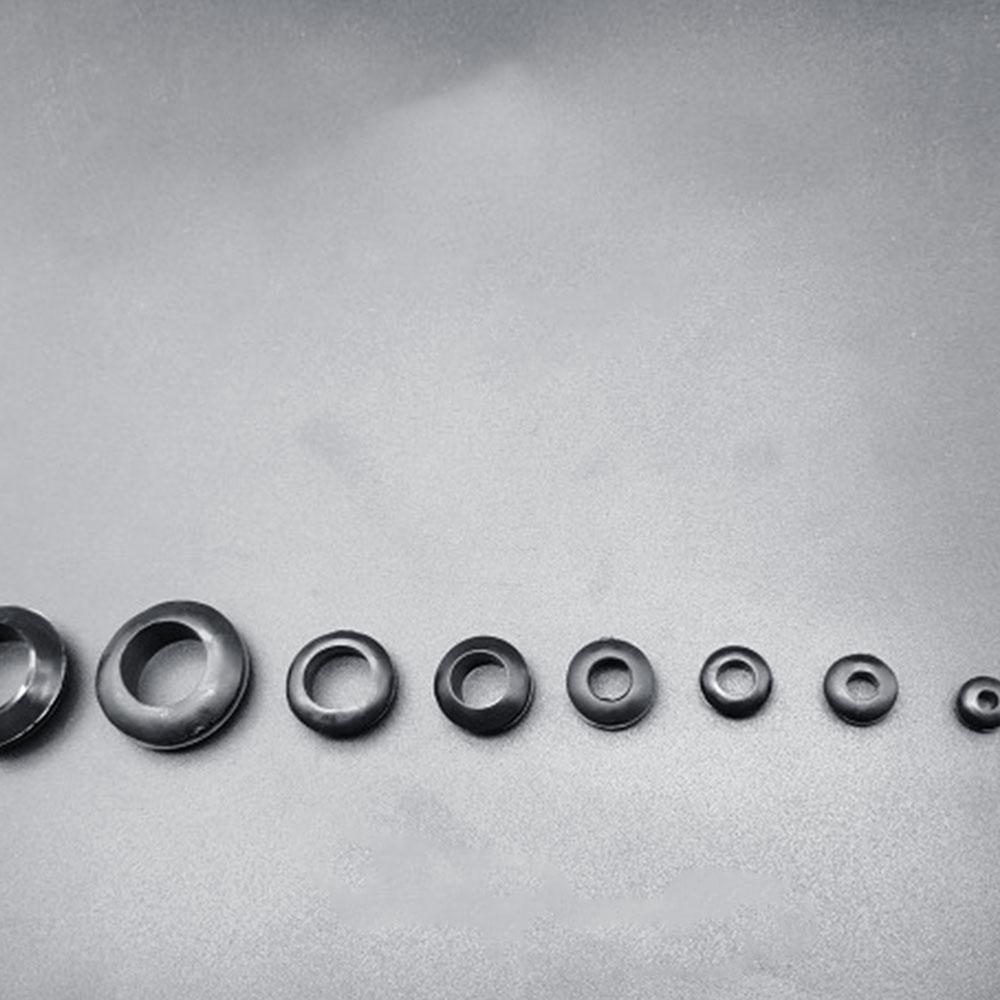 180 шт круглая резиновая прочная защелкивающаяся крышка Резиновая Защитная Катушка черный 180 шт заглушки втулка Ассортимент Комплект кабелей автомобильный