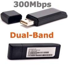 BCM43236 802.11a/g/b/n 600 mb/s N600 Dual-Band bezprzewodowa 5G-N adapter usb wifi dla Broadcom BCM43236 wsparcie Linksys AE2500 sterownik