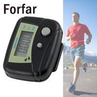 Цифровой Дисплей прочный часы шаг шагомер спортивный прибор подсчета калорий пешком Multi Функция Run