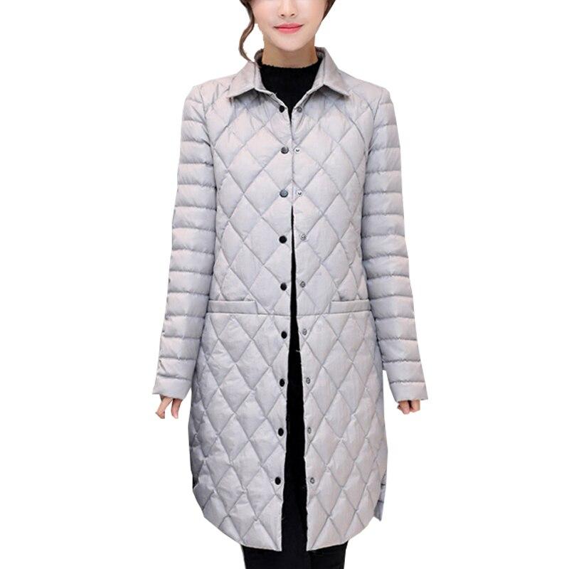 Agregar abrigo Ultra mantener caliente chaqueta de plumón de pato blanco x long mujer sobretodo nuevo Slim sólido chaquetas de invierno abrigos Parkas acolchadas