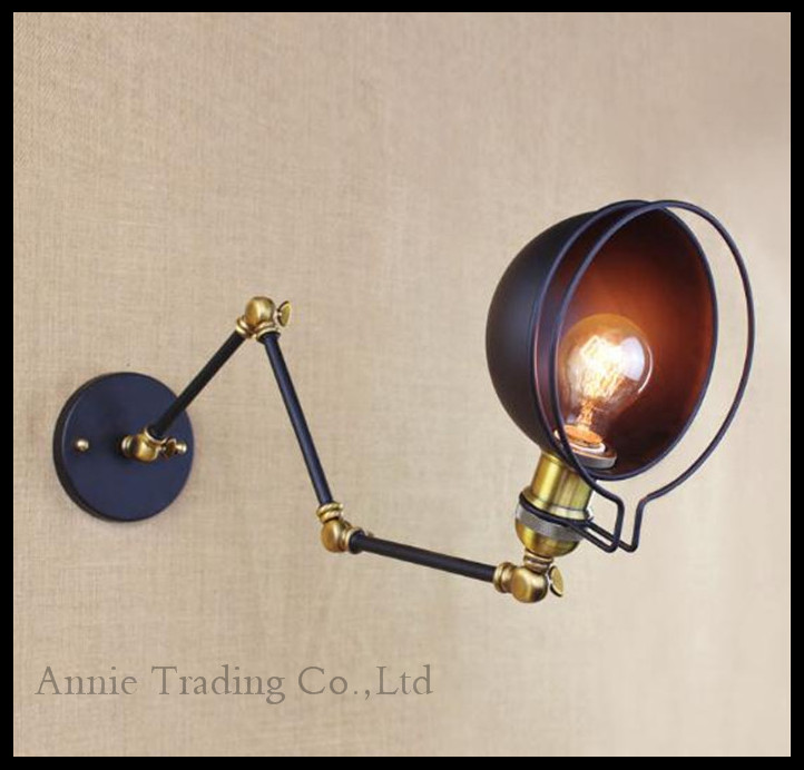 American Vintage Wall Lamps Art Decoration