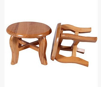 Charmant Small Wooden Seat ,stool,solid Wood Chair,table Chair In Garden Chairs From  Furniture On Aliexpress.com | Alibaba Group
