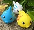 6 pçs/set Bebê crianças bath toy squeeze som dabbling peixe kawaii jogo da água para Crianças brinquedo animal bonito dos desenhos animados do banheiro figura