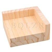 9 8x9 8CM Slot L Shaped Wood Furniture Lifter Sofa Table Riser Add 3cm BQLZR