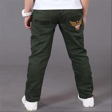Boys Pants Trousers 2019 Spring Casual Cotton Elastic Waist Letter Kids Clothes Pencil Pant For Boy Children Clothing Ds175 цена и фото