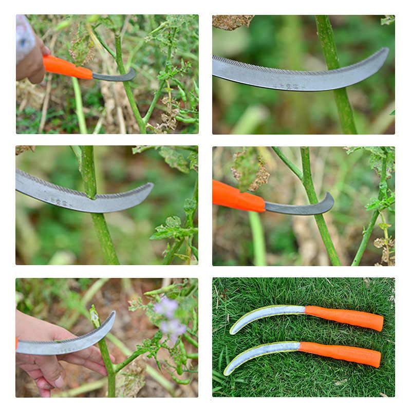 家庭用ツール小型のこぎり鎌全体鋼小型のこぎり鎌刃カットプラスチックフィルムに鍬鎌ガーデン剪定ばさみ