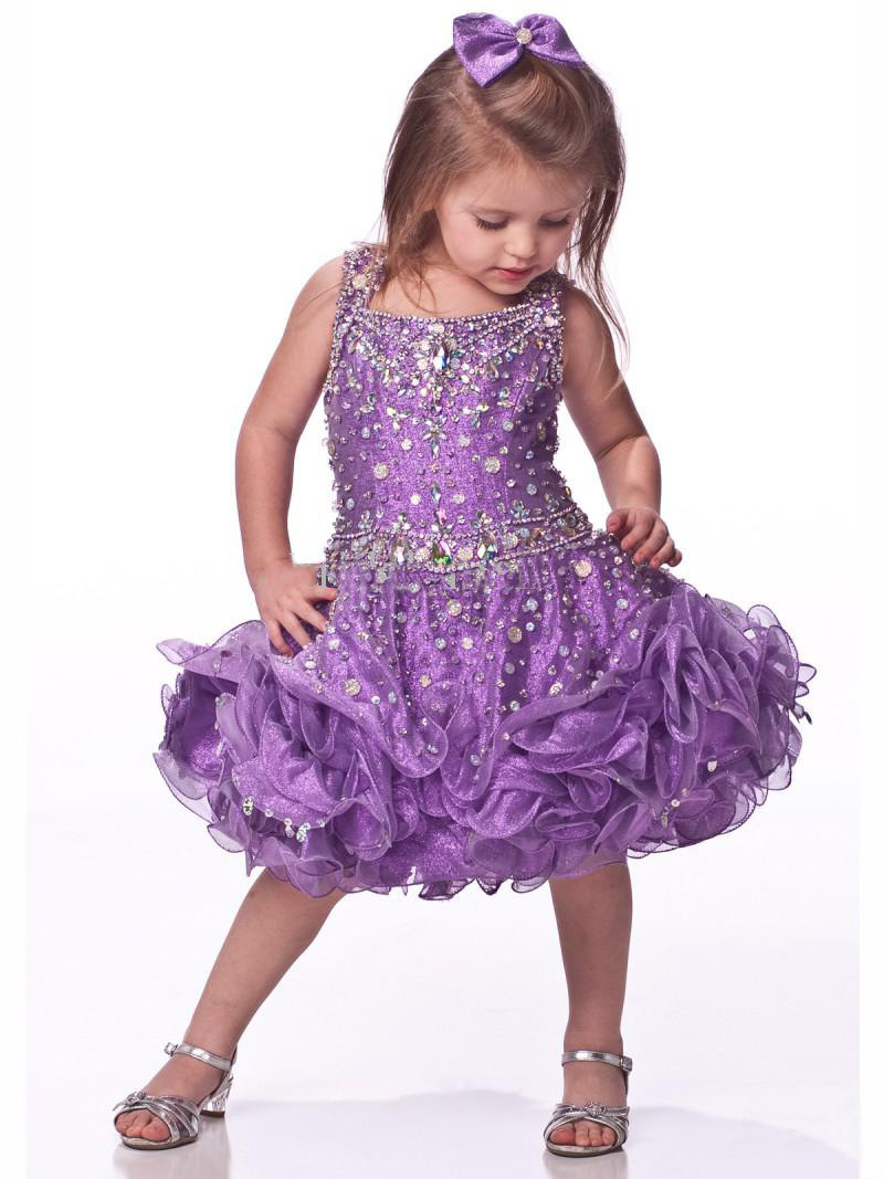 4f18a99f277 2015 New Cheap Flower Girls Pageant Dresses Ball Gown Mini Quinceanera  Dresses Sequin Bouquet Flowers Girls Dresses S155-in Flower Girl Dresses  from ...