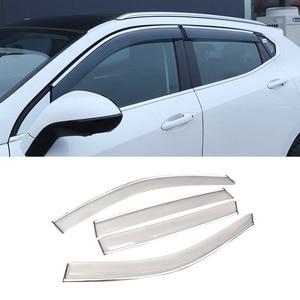 Image 4 - Vtear Voor Haval F7 F7X Window Visor Auto Regenkap Deflectors Luifel Trim Cover Exterieur Auto Styling Accessoires Onderdelen 2019