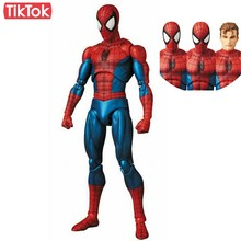 The Amazing Spider Man Ver Comic 075 spiderman Dos Desenhos Animados Toy Action Figure Modelo Boneca de Presente(China)