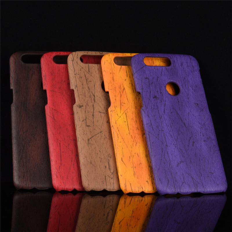 OnePlus 5T Case Cover For OnePlus 5 A5000 Case Hard Leather Retro wood grain Phone Case For One Plus 5 5T OnePlus 5T