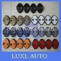 Para Kia RIO k2 2009-2015 Hyundai solaris porta lockbutton capa protetora fechadura da porta lockbutton fivela acessórios do carro-styling