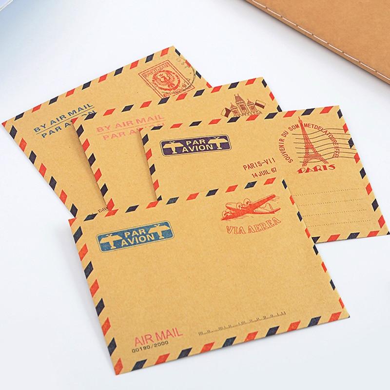 10 Pcs/lot Korean Mini Paper Envelope Vintage Envelopes For Invitations Wallet Envelope For Student School Office Gift