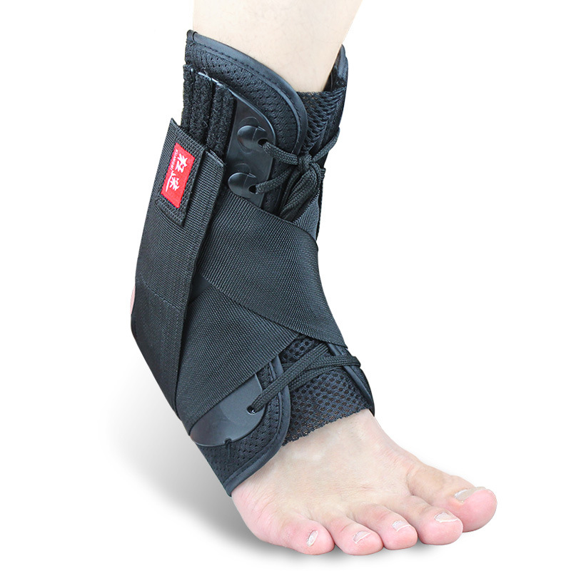 Black Super Strong Ankle Bandage Ankle Brace Support Sports Foot Stabilizer Pain Ankle Guard Strap Wrap
