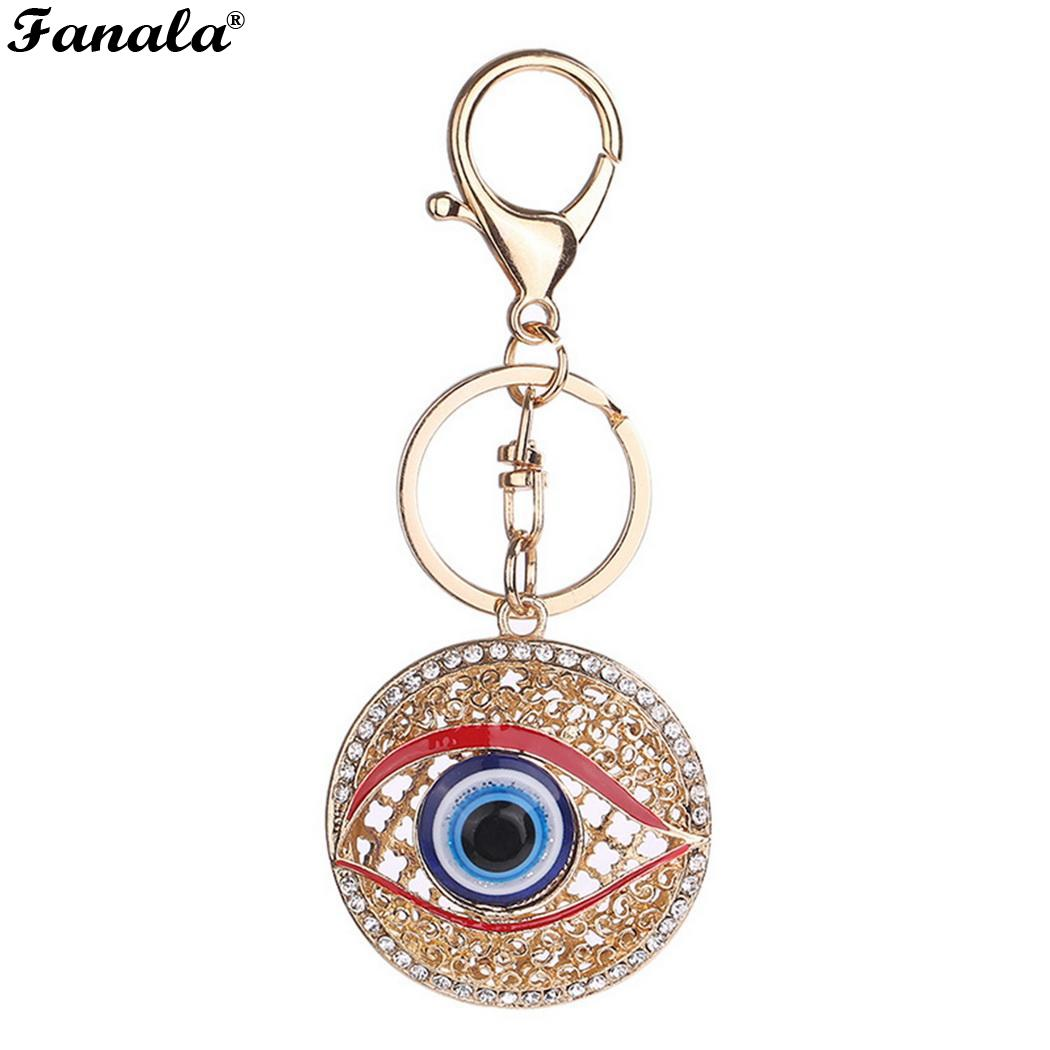 Round Pendant Chain Eye Backpack Exquisite Decorative Key Alloy Big