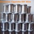 2 unids/lote Cigarrillo Electrónico RDA RBA BRICOLAJE Alambre de Resistencia 10 m/roll Los Cables de Calefacción de Alambre En Forma para Taifun GT Kayfun V4 X8894