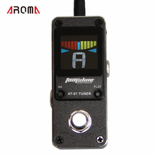Aroma Tuner AT-07 Very small and compact design chromatic NEW Effect Guitar Pedal