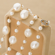 Pure Handmade Long Pearl Necklace