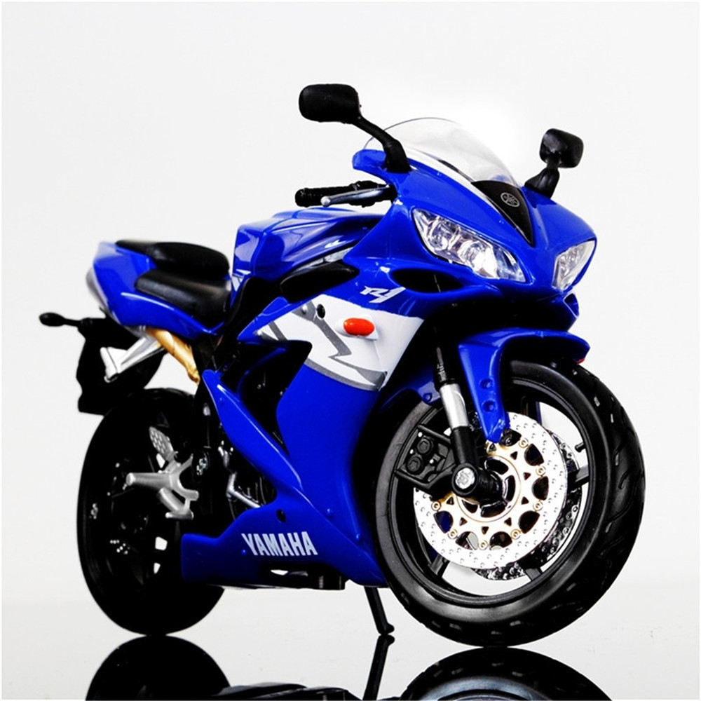1:12 Maisto YAMAHA YZF-R1 Diecast <font><b>Motorcycle</b></font> <font><b>Model</b></font> Vehicle <font><b>Models</b></font> Office Decoration Birthday Gifts Toys For Kids Free Shipping image
