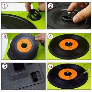 Image 4 - Looptone Dây Ổ 33/45/78 Vòng/phút Bluetooth Vinyl LP Kỷ Lục Cầu Thủ Bàn Xoay Đĩa Loa Tích Hợp Jack Cắm Tai Nghe & Rca Line Out