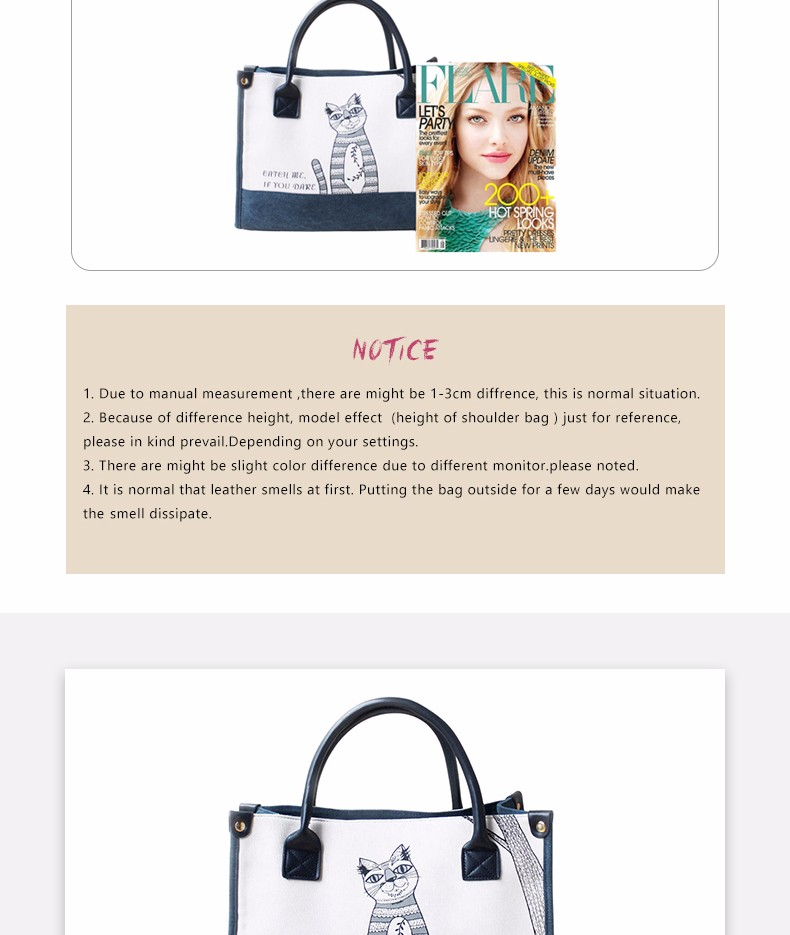 Flower Princess Canvas Cat Large Tote Bags Women Handbags Ladies Hand Bags Bolsa Feminina Bolsos Mujer Dames Tassen Borse Donna 4
