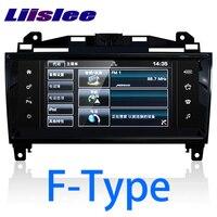 LiisLee Car Multimedia GPS HiFi Audio Radio Stereo For Jaguar F Type FType SVR Convertible Coupe X152 2013~2018 Navigation NAVI