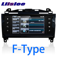 LiisLee Car Multimedia GPS HiFi Audio Radio Stereo For Jaguar F Type FType SVR Convertible Coupe X152 2013~2018 Navigation NAVI
