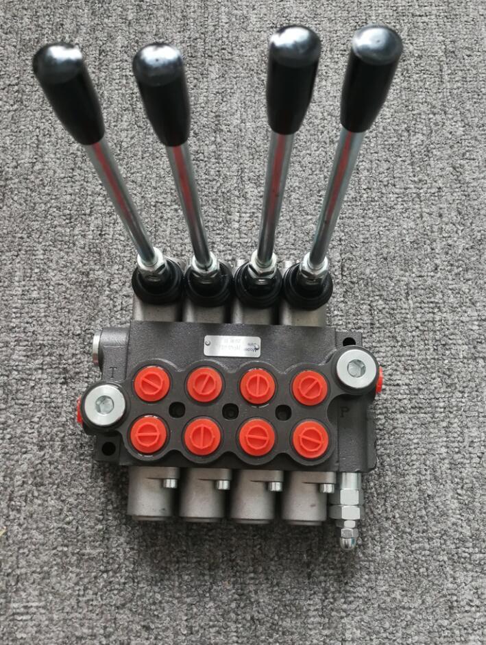 Гидравлический клапан направленного управления, 4 катушки 40 л/мин для буровых установок для майнинга