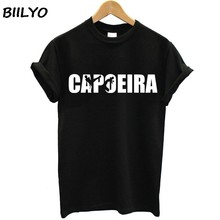 2018 T Shirt Capoeira Rythms Women 100% Cotton Short Sleeve O Neck Tshirt Teens Garment 2017 Graphic T-shirt For Girl(China)