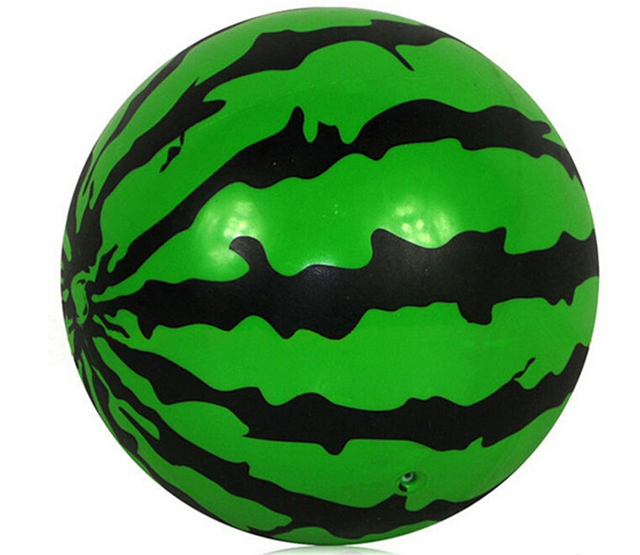new inflatable pvc watermelon ball the swimming pool game toy 15cm 6