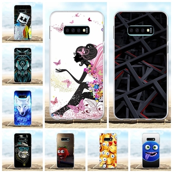 For Samsung Galaxy S10e Case Soft TPU For Samsung Galaxy S10e G970F G970U G970W Cover Floral Patterned For Samsung S10e Shell