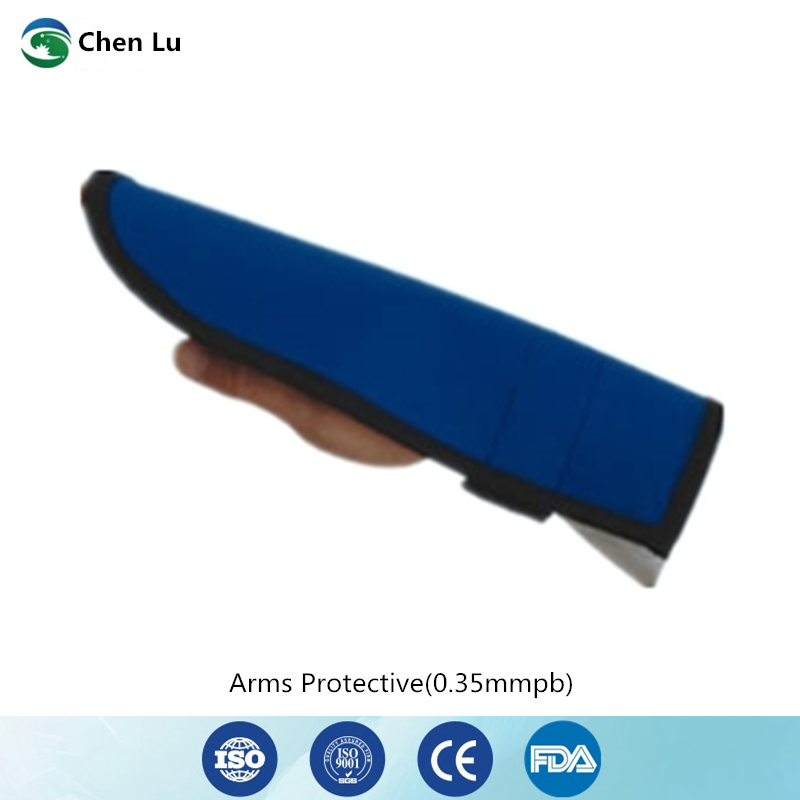 Genuine x ray radiation protection 0 35mmpb arms protective hospital orthopedic patients medical exposure shielding lead