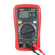 Digital Multimeter Handheld LCD DC/AC Voltage DC Current Meter Resistance Tester Voltmeter Ammeter  UT33B+ digital lcd multimeter 6000 counts mini multi meter voltmeter ohmmeter ac dc voltage current resistance capacitance meter tester