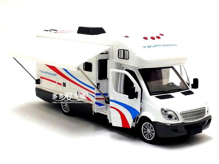 1:32 Scale Sprinter Luxury Motorhome Trailer Caravan Alloy Diecast Car Model Toy