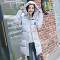 Luxury Long Cotton-Padded Down Coat Winter Women warm wadded jacket New Specials thickening Warm down coat warm outwear coat
