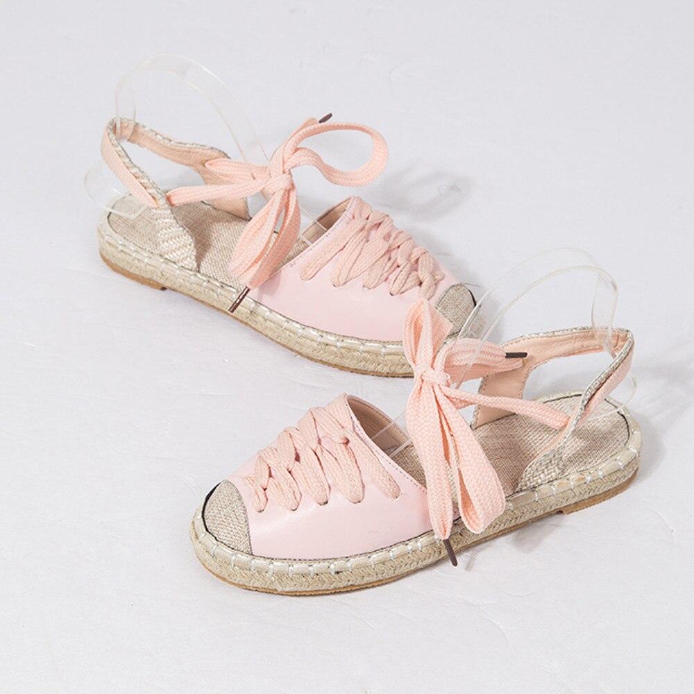 Moda Zapatos Bajo De Vacaciones Verano Muqgew Tacón Sandalias Rosado xBdoCe