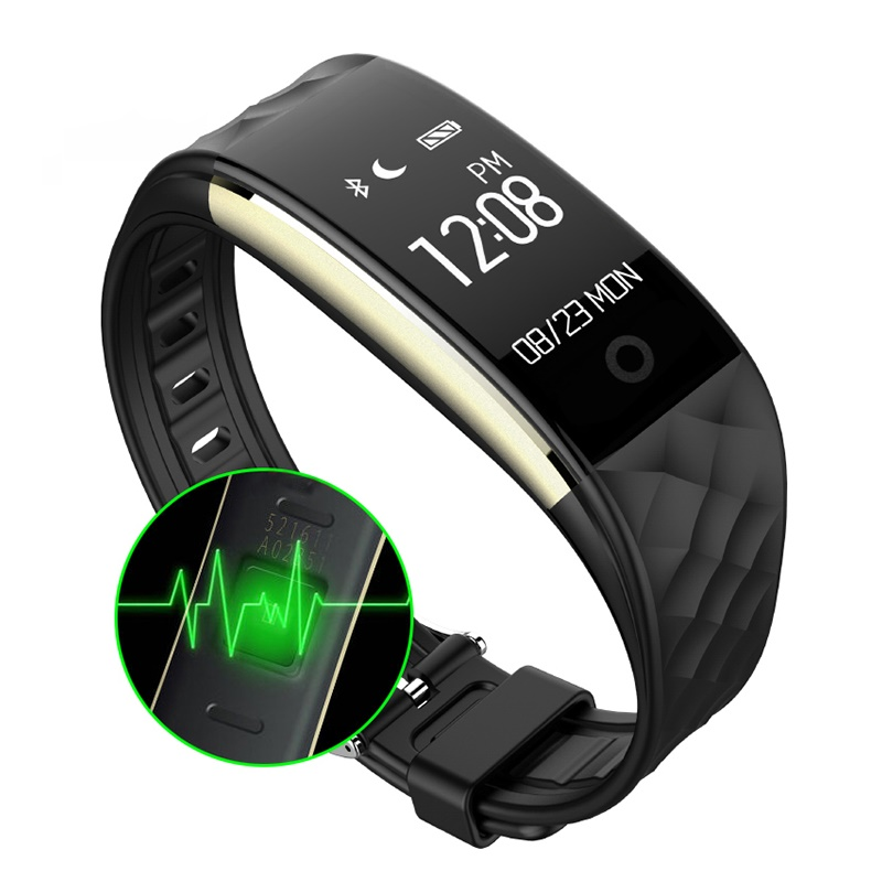 GZDL S2 Bluetooth Smart Band Wristband Heart Rate Monitor IP67 Waterproof Activity Fitness Tracker Bracelet Android