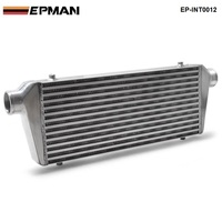 550x230x65mm UNIVERSAL FRONT MOUNT TURBO INTERCOOLER For Honda Civic Nissan Toyota EP INT0012