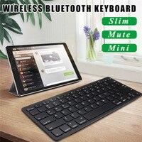 Mini Wireless Keyboard Ultra Thin Bluetooth 3 0 Gaming Keyboard Remote Control For Apple IPad IPhone