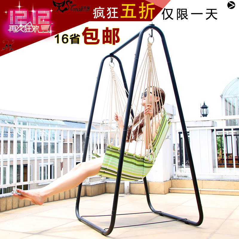 Waning Court Thick Reinforced Indoor Swing Outdoor Swing Hanging Chair  Recliner Outdoor High Load Bearing Quarters Lifts In Patio Swings From  Furniture On ...