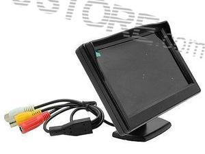 """5 """"дюймовый высокое Разрешение HD 800*480 (без 320*240) автомобиль на тонкопленочных транзисторах на тонкоплёночных транзисторах ЖК-дисплей монитор Экран 2ch видео"""