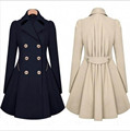 2XL Plus Size Thickening Trench Coat For Women Basic Coats Cotton Camperas Mujer Abrigo Casaco Abrigos Mujer Casacos Coat  Women
