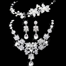 Crown necklace and Earring set
